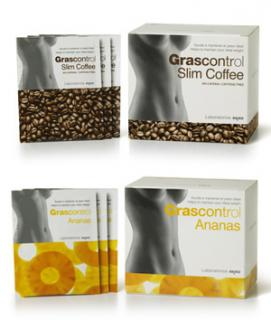 Grascontrol Slim Coffee and Grascontrol pineapple